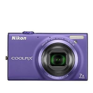 COOLPIX S6100 Violet