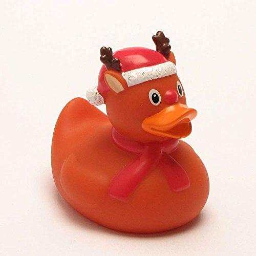 Rubber Duck Christmas Moose Bath Duck
