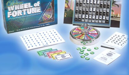 Deluxe Wheel of Fortune - 2nd Edition