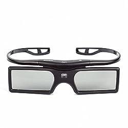 SainSonic 144Hz 3D Active Detachable Shutter Glasses for 3D DLP-Link Projectors and HDTV - Acer, Benq, Viewsonic, Optoma, Sharp, Mitsubishi, Epson, Nvdia, Sony, LG, Panasonic, Samsung, Vivitek, Dell, Nec