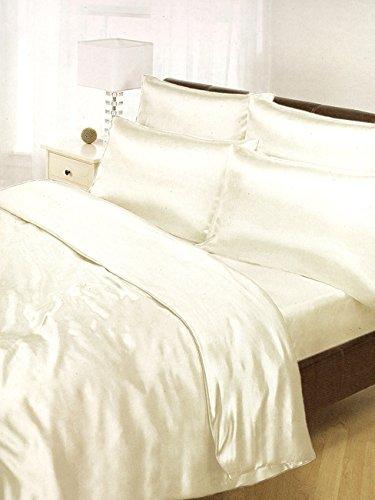 deluxe satin 6 teilige bettw sche 200x200 bettlacken. Black Bedroom Furniture Sets. Home Design Ideas