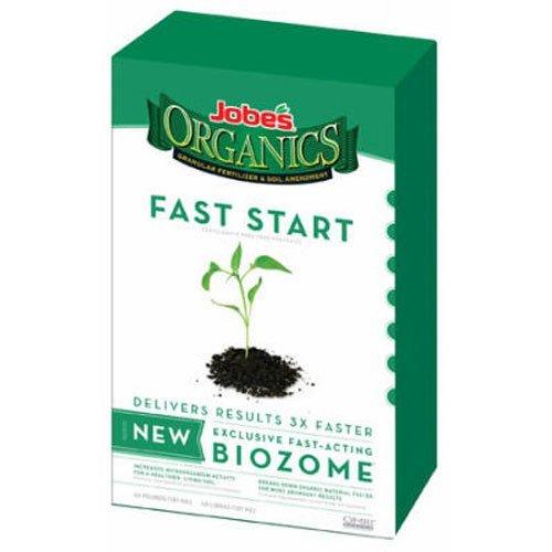 jobes-09726-organic-fast-start-granular-fertilizer-4-pound-bag