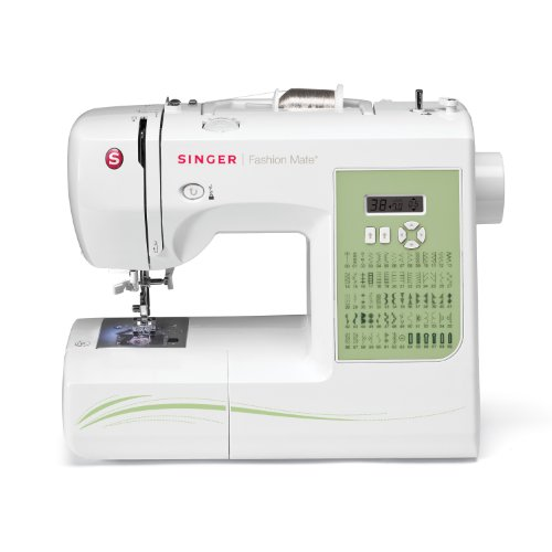 SINGER 7256 Fashion Mate 70-Stitch Computerized Free-Arm Sewing Machine with Instructional DVD and More