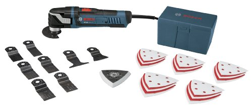 Review Of Bosch MX30EK-35 3.0-Amp Oscillating Tool with Quick Change, 35 Accessories and Case