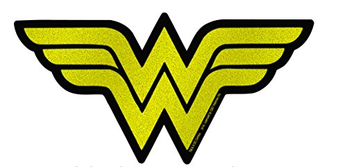 C&D Visionary DC Comics Originals Wonder Woman Logo On Glitter Sticker