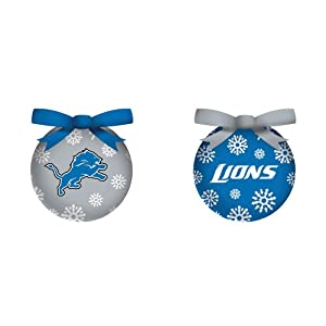 Detroit Lions LED Ornaments - NFL Fan Gear - 6 Per Pack by SmileMakers