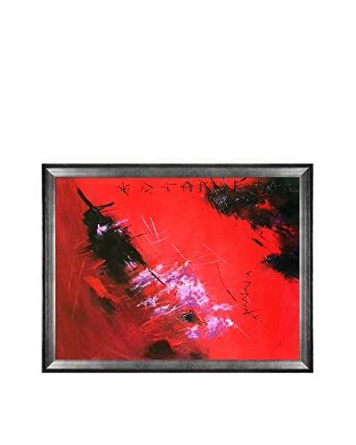 Pol Ledent Abstract 884512 Framed Hand-Painted Reproduction