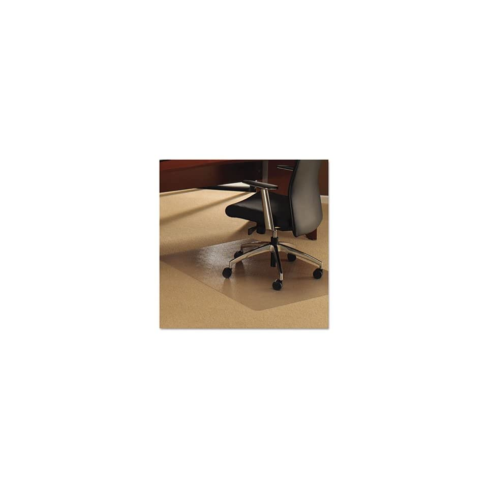 Floortex Ultimat Chair Mat for Plush Pile Carpets, 48 x 60, Clear