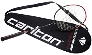 Carlton Badmintonschläger Powerblade Superlite - Red Edition, Schwarz/Rot, One size, 112413
