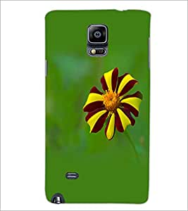 PrintDhaba Flower D-1962 Back Case Cover for SAMSUNG GALAXY NOTE 2 (Multi-Coloured)
