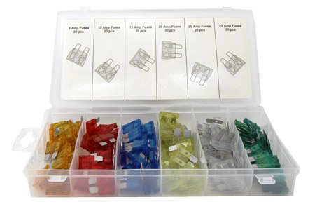 120 Assorted Car Truck Fuse 5,10,15,20,25,30 AMP