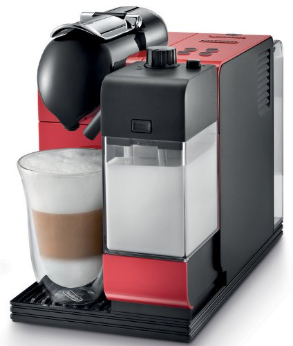 New DeLonghi Red Lattissima Plus Nespresso Capsule System