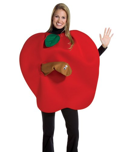 Rasta Imposta Apple with Worm Costume