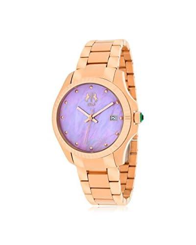 Jivago Women's JV3213P Jolie Rose Gold Tone/Pink Stainless Steel Watch
