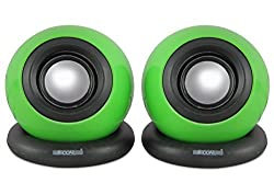 5 Core MMS-03 USB powered multimedia speaker for computers, mobile phones, laptops with 3.5mm jack, high quality speaker with soundbass powered with 2 W X 2 RMS speakers