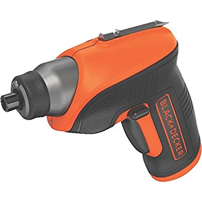 BLACK+DECKER BDCS30C 4-Volt MAX Lithium-Ion Cordless Rechargeable LED Screwdriver