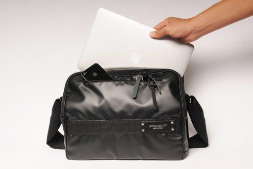 ARTISAN&ARTIST アルティザン・アンド・アーティスト MacBook Air11インチ+小型一眼収納カメラバッグ ブラック ICAM-3500BLK