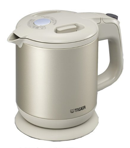 Frame-Less Child Electric Kettle Steam Tiger (0.6L) Beige Pch-A060-C By Tiger