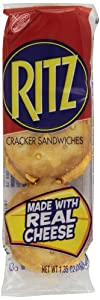 Ritz Cheese Cracker Sandwiches, 1.35 Ounce (Pack of 8)