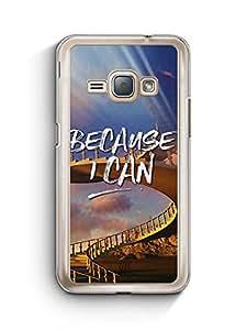 YuBingo Because I Can Designer Mobile Case Back Cover for Samsung Galaxy J1 2016