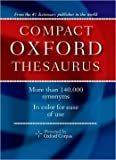 Oxford Compact Thesaurus (1411405102) by McKean, Erin