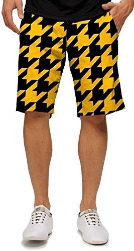 loudm-outh-big-buzz-de-s-pantalones-cortos-negro-amarillo-30