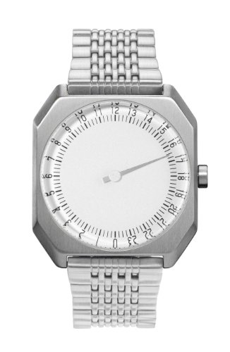slow Jo - All Silver Steel, Silver Dial - Swiss Made