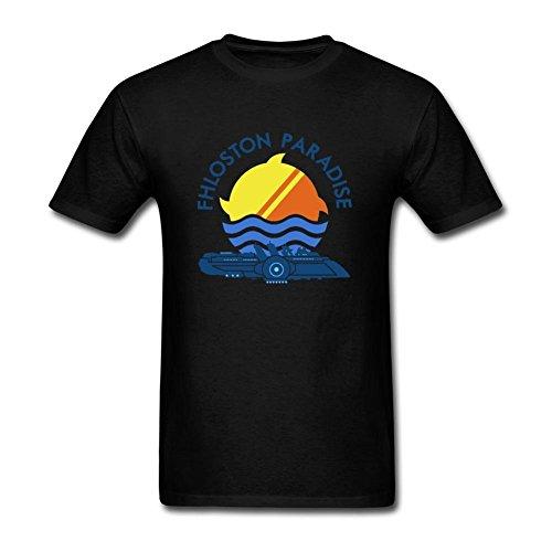 SUNRAIN Men's Fhloston Paradise The Fifth Element T Shirt (Leeloo 5th Element)
