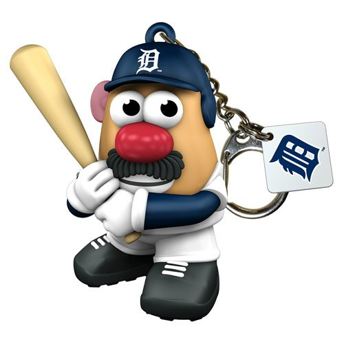Mlb Detroit Tigers Mr Potato Head Keychain front-731284