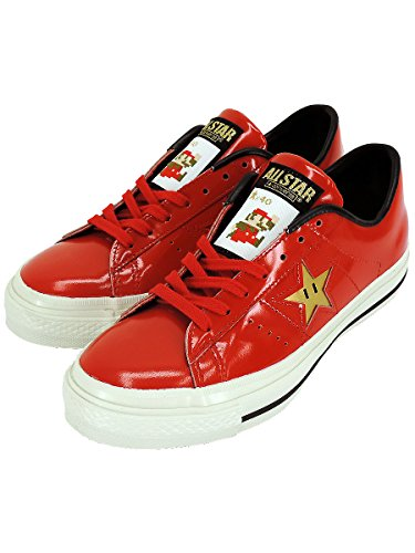 CONVERSE ONESTAR J SP MARIO B COLOR:RED SIZE:25.5cm コンバース マリオ ワンスター