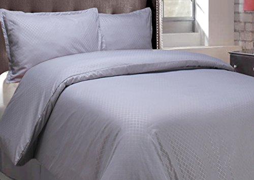 Natural Comfort Sausalito Nights Duvet Cover Set, Twin, Titanium front-774402