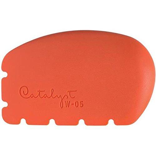 Princeton Art & Brush W-05 Catalyst Silicone Wedge Tool, Orange