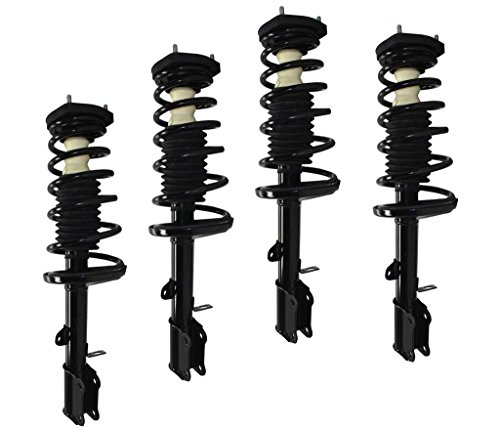 DTA 70088 Full Set 4 Complete Strut Assemblies With Springs and Mounts Ready to Install OE Replacement 4-pc Set, 1998-2002 Chevrolet Prizm, 1993-2002 Toyota Corolla-Sedan (Toyota Corolla Time compare prices)
