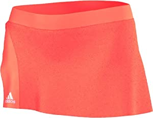 Adidas Ladies Adizero Skort-Glow Orange White  Glow Orange by adidas