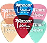 Fender California Clear Guitar Picks 12-Pack Blue Heavy