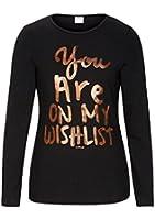 s.Oliver 66.408.31.3631 - T- shirt à manches longues - uni - Fille