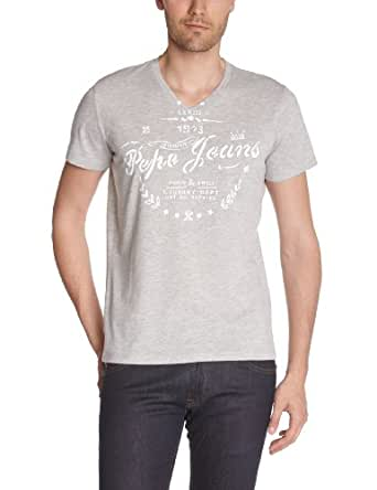 Pepe Jeans - William -  T-shirt - Homme - Gris (933Grey Marl) - S
