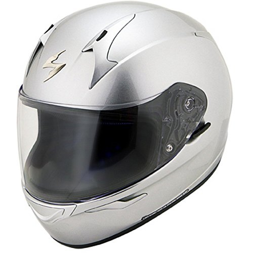 Scorpion EXO-R410 Solid Hypersilver Full Face Helmet - Medium