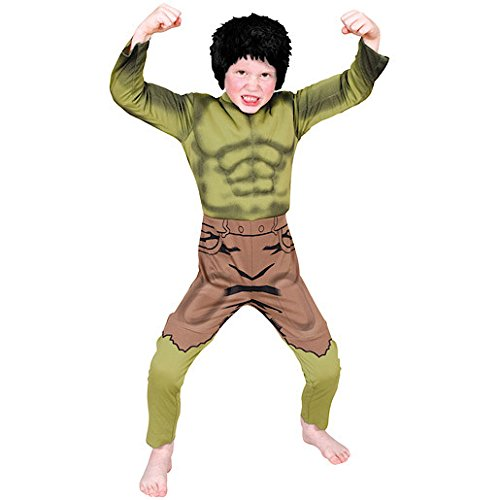Marvel Avengers The Hulk Deluxe Costume With Padded Chest - Small (age 3-4) Picture