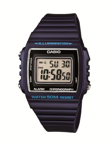 Casio Unisex Watch W-215H-2AVEF