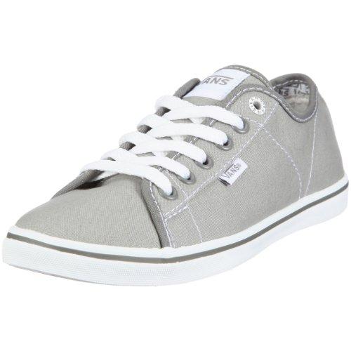 Vans Women's Ferris Lo Pro Fashion Sneaker Grey UK 4