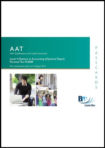 AAT - Personal Tax: Passcards