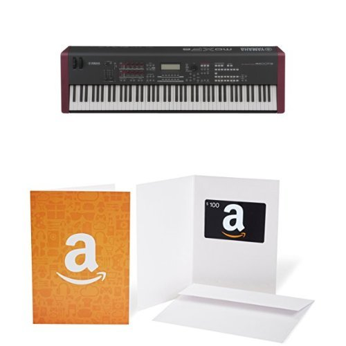 yamaha moxf8 music production workstation with 100 amazon gift card electronic keyboard buy. Black Bedroom Furniture Sets. Home Design Ideas