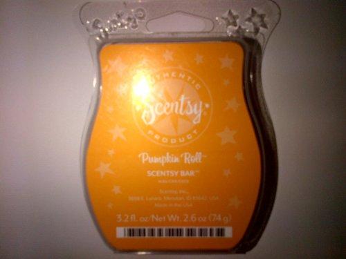 Pumpkin Roll Scentsy Bar Wickless Candle Tart Warmer Wax 3.2 Oz