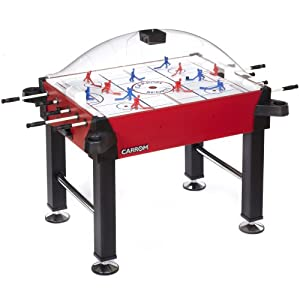 Carrom 425.00 Signature Stick Hockey Table with Legs (Red) by Carrom