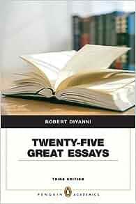 25 great essays diyanni