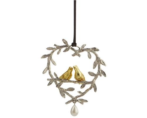 Michael Aram Lovebirds Ornament