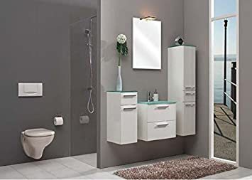 Pelipal Nevo 3 Tlg. Bathroom Furniture Set/Vanity/Counter/Mirror/Comfort N