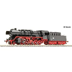 TILLIG 02291 -TT- Dampflokomotive BR 50.35 Epoche IV der DR [Spielzeug]