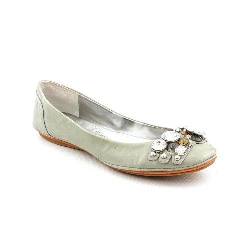 Nine West Strand Flats Shoes Gray Womens